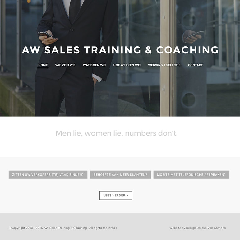 design unique - aw sales en coaching