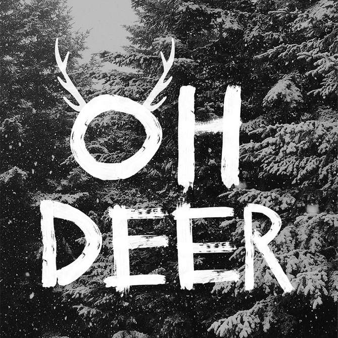 design unique - xmas - oh deer